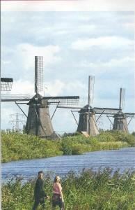 19 moulins de Kinderdijk