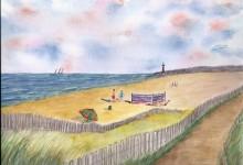 """Essais n°2: """"Vue sur la plage"""""""