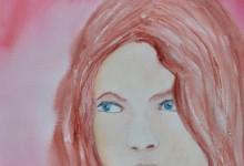 """Aquarelle n°72: """"Portrait 2"""""""