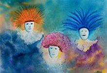 "Aquarelle n°96: ""carnaval"""