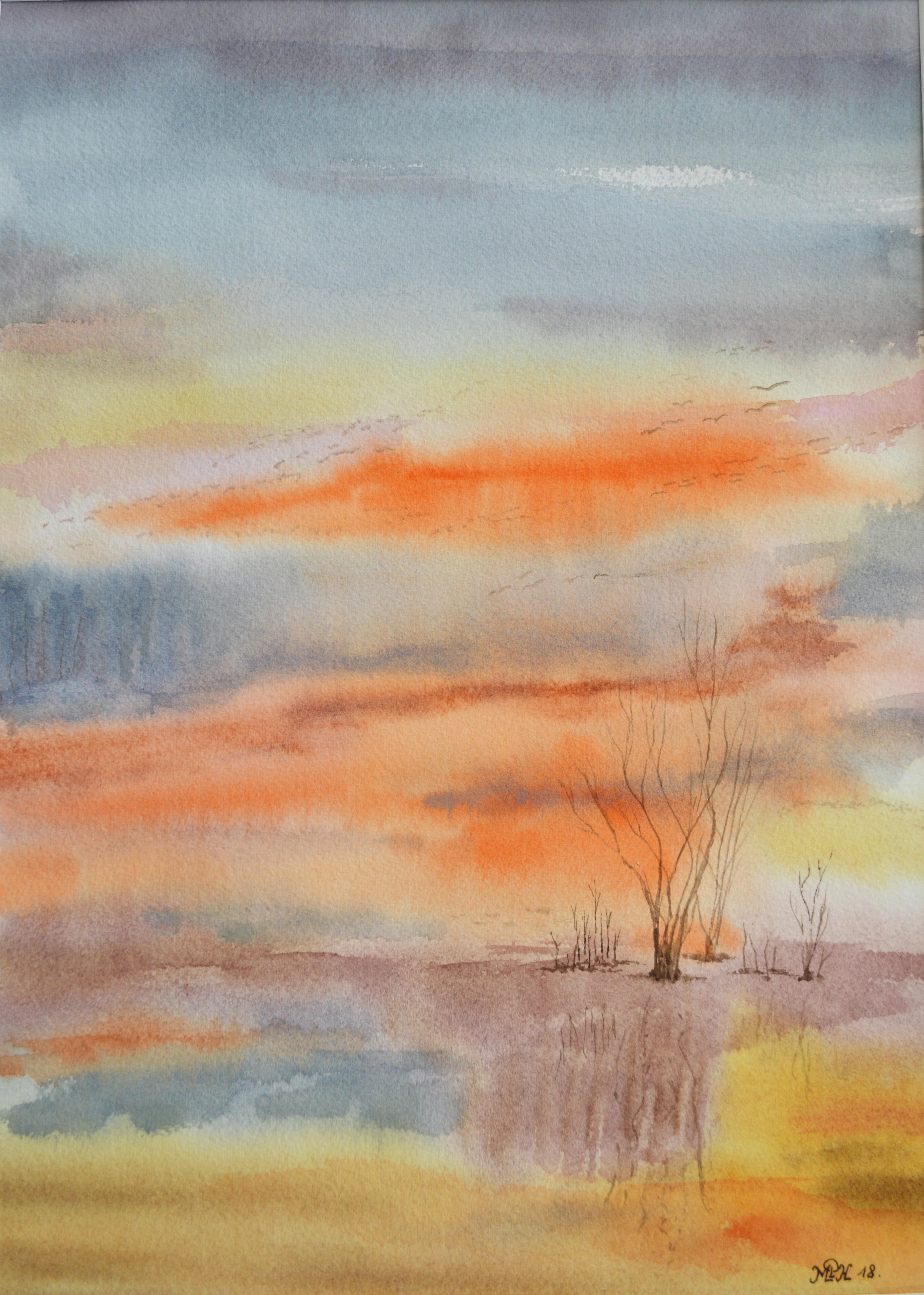 "Aquarelle n°119: ""Nature Vierge"""