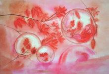 "Aquarelle n°124: ""Bulles de savon"""
